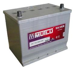 Аккумулятор автомобильный Mutlu Calcium Silver (серая) 70 А/Ч 600 А обр. пол. с бортиком (260x175x220) 570412 E23
