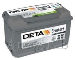 Аккумулятор автомобильный Deta Senator 85 Ач обр. 85А/ч 800А обр. 315x175x175