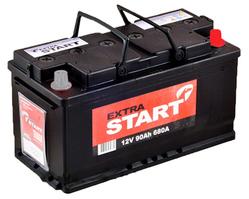 Аккумулятор автомобильный MegaStart 90 А/Ч 600 А обр. пол. (353x175x190) 590122 F6