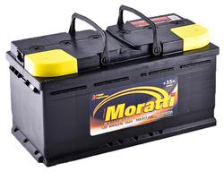 Аккумулятор автомобильный Moratti 95 А/Ч 900 A прям. пол. (353x175x175)