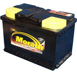Аккумулятор автомобильный Moratti 75 А/Ч 700 A обр. пол. (278x175x190) 574012 E11