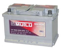 Аккумулятор автомобильный Mutlu Calcium Silver (серая) 66 А/Ч 560 А прям. пол. (278x175x190) 574013 E12