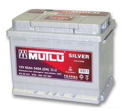 Аккумулятор автомобильный Mutlu Calcium Silver (серая) 63 А/Ч 550 А обрат. пол. (242x175x190) D24 560408