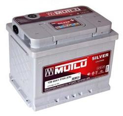 Аккумулятор автомобильный Mutlu Calcium Silver (серая) 60 А/Ч 520 А обрат. пол. (242x175x190) D24 560408