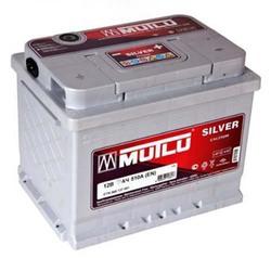 Аккумулятор автомобильный Mutlu Calcium Silver (серая) 55 А/Ч 450 А прям. пол. (242x175x190) C15 556401