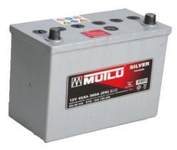 Аккумулятор автомобильный Mutlu Calcium Silver (серая) 45 А/Ч 360 А обратная пол. (238x129x227) 545156 B32