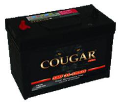 Аккумулятор автомобильный Cougar SMF 100 А/Ч 125D31L обр. пол., с бортиком (306x173x225) 595404 G7