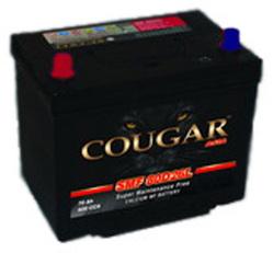 Аккумулятор автомобильный Cougar SMF 85 А/Ч 680 А 95D26R прям. пол., с бортиком (261x175x220) 570413 E24
