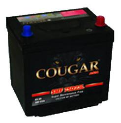 Аккумулятор автомобильный Cougar SMF 70 А/Ч 610 А 85D23L обр. пол., с бортиком D47