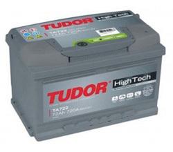 Аккумулятор автомобильный Tudor High-Tech 72 А/Ч 720 A обр.пол. TA722 (278x175x175) E38 574402 E43