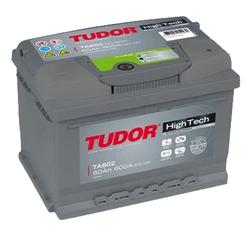 Аккумулятор автомобильный Tudor High-Tech 60 А/Ч 600 A обр.пол. TA602 (242x175x175) D21 561400