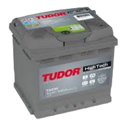Аккумулятор автомобильный Tudor High-Tech 53 А/Ч 540 A обр.пол. TA530 (207x175x190) 554400 C30