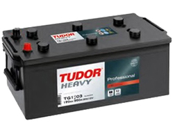 Аккумулятор автомобильный Tudor Heavy Professional 190 А/Ч 1000 A прям. пол. (513x223x223) TG1906