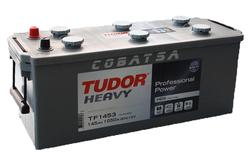 Аккумулятор автомобильный Tudor Heavy Professional 145 А/Ч 800 A прям. пол. (513x189x223) TF1453 K7 K8