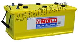 Аккумулятор автомобильный Mutlu Calcium Silver (желтая) 135 А/Ч 950 А прям. пол. (513x189x223) K7 K8 640400