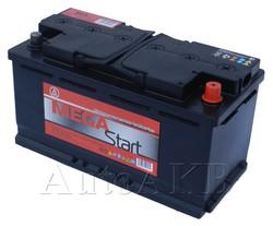 Аккумулятор автомобильный Megastart 90 Ач обр. 90А/ч 780А обр. 353x175x190