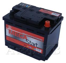 Аккумулятор автомобильный Megastart 6СТ-62 62А/ч 500А обр. 242x175x190