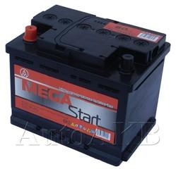 Аккумулятор автомобильный Megastart 6СТ-60 60А/ч 480А пр. 242x175x190