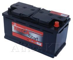 Аккумулятор автомобильный Megastart 6СТ-100 100А/ч 790А обр. 353x175x190