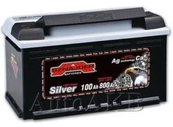 Аккумулятор автомобильный SZNAJDER Silver 600 25 100А/ч 800А обр. 352x175x190 600 25