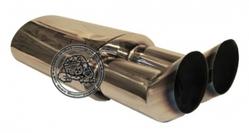 Прямоточный глушитель Aspec Racing Bullet  DUAL